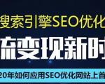 SEO搜索引擎优化总监实战VIP课堂【透析2020最新案例】快速实现年新30W
